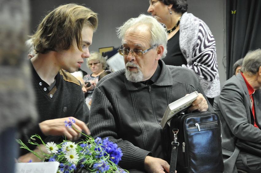 Пераемнасць пакаленняў: унук і сын Ніла Гілевіча